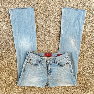 Lucky Brand Sweet N Low Bootcut Jeans Light Wash 4